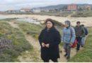 Senra denuncia a invasión de especies exóticas na Lanzada e as obras que danan as dunas