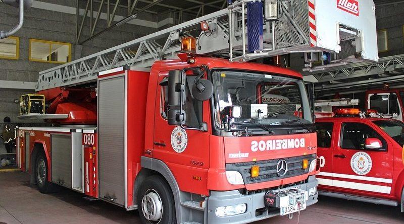Dous camións de bombeiros fallaron durante o incendio da Chavasqueira