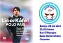 En Marea parodia os carteis de Vox e Ciudadanos nun acto en Ourense