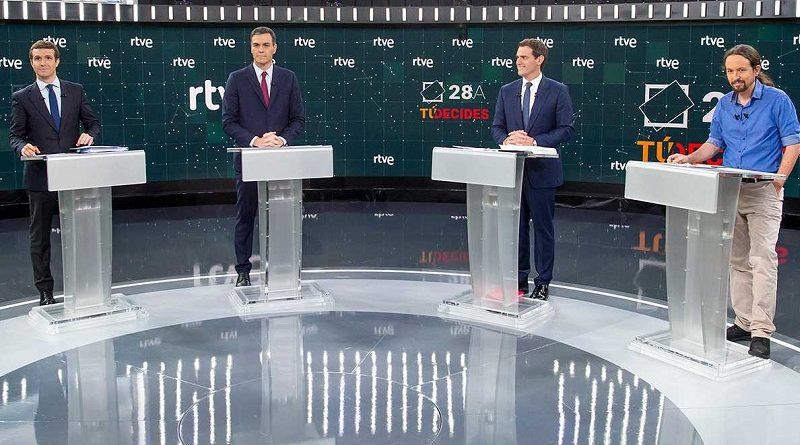 O debate entre os partidos estatais esquécese de Galicia